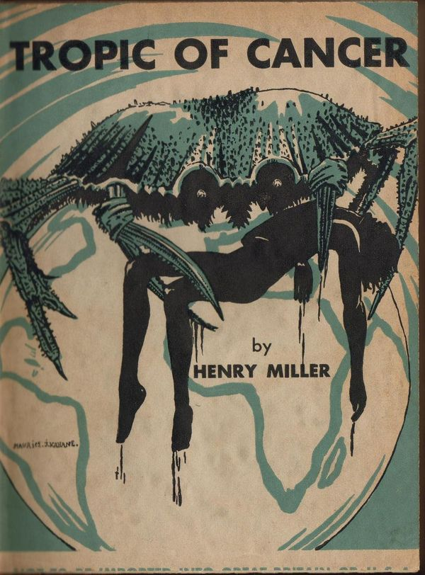 First published in France in 1934, <em>Tropic Of Cancer</em> -- which follows a young struggling writer's sexual encounters -