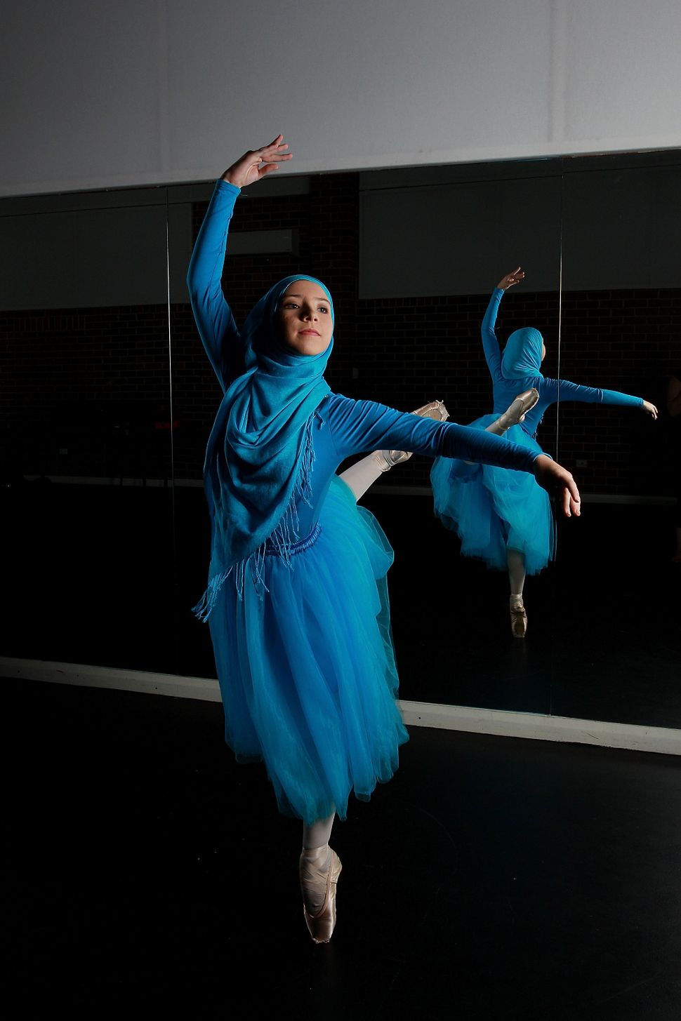 These Photos Capture The Beauty And Grace Of The Worldu0026#39;s First Muslim Hijabi Ballerina | HuffPost