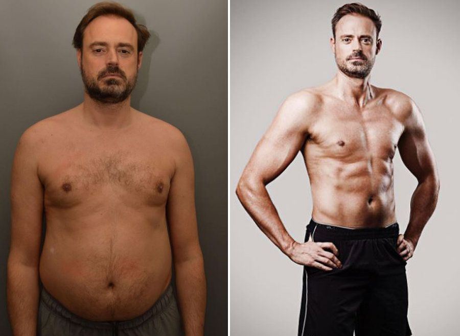 Jamie Theakston Unveils Seriously Impressive Body
