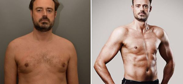 Jamie Theakston Unveils Seriously Impressive Body Transformation