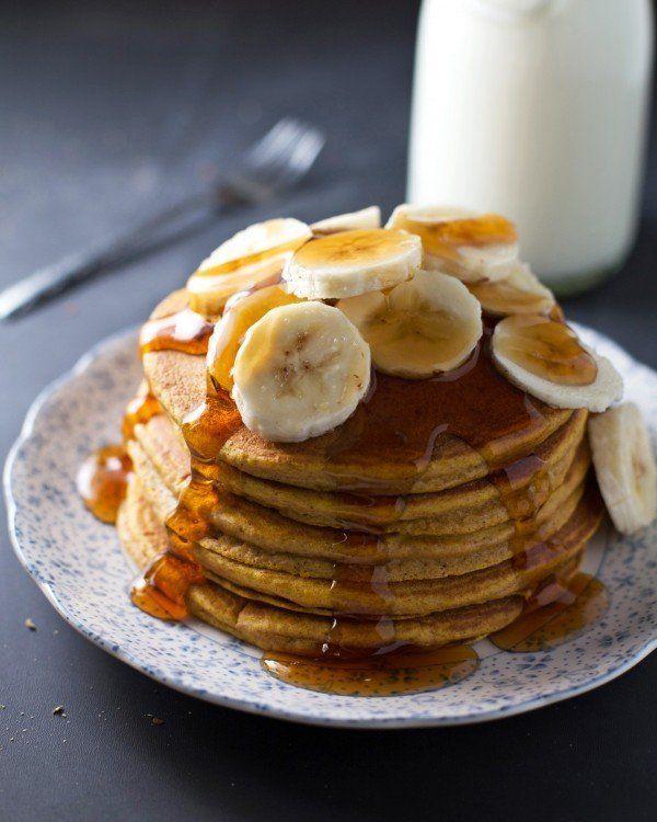 "<strong>Get the <a href=""http://pinchofyum.com/best-ever-whole-wheat-pumpkin-pancakes"" target=""_blank"">Whole Wheat Pumpkin Pa"