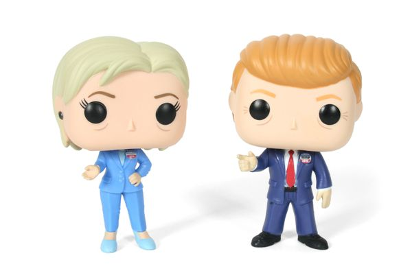 "It's the candidates as you've never seen them before: Cute, with big eyes and tiny bodies. These Funko dolls of <a href=""http"