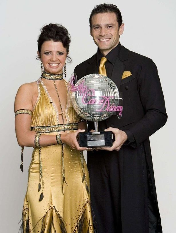 Karen won the fourth series of 'Strictly' with Mark