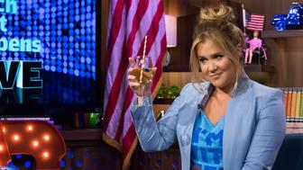 WATCH WHAT HAPPENS LIVE -- Guest: Amy Schumer -- (Photo by: Charles Sykes/Bravo/NBCU Photo Bank via Getty Images)