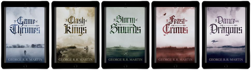 Interactive 'Game Of Thrones' Books Make Westeros Way Less