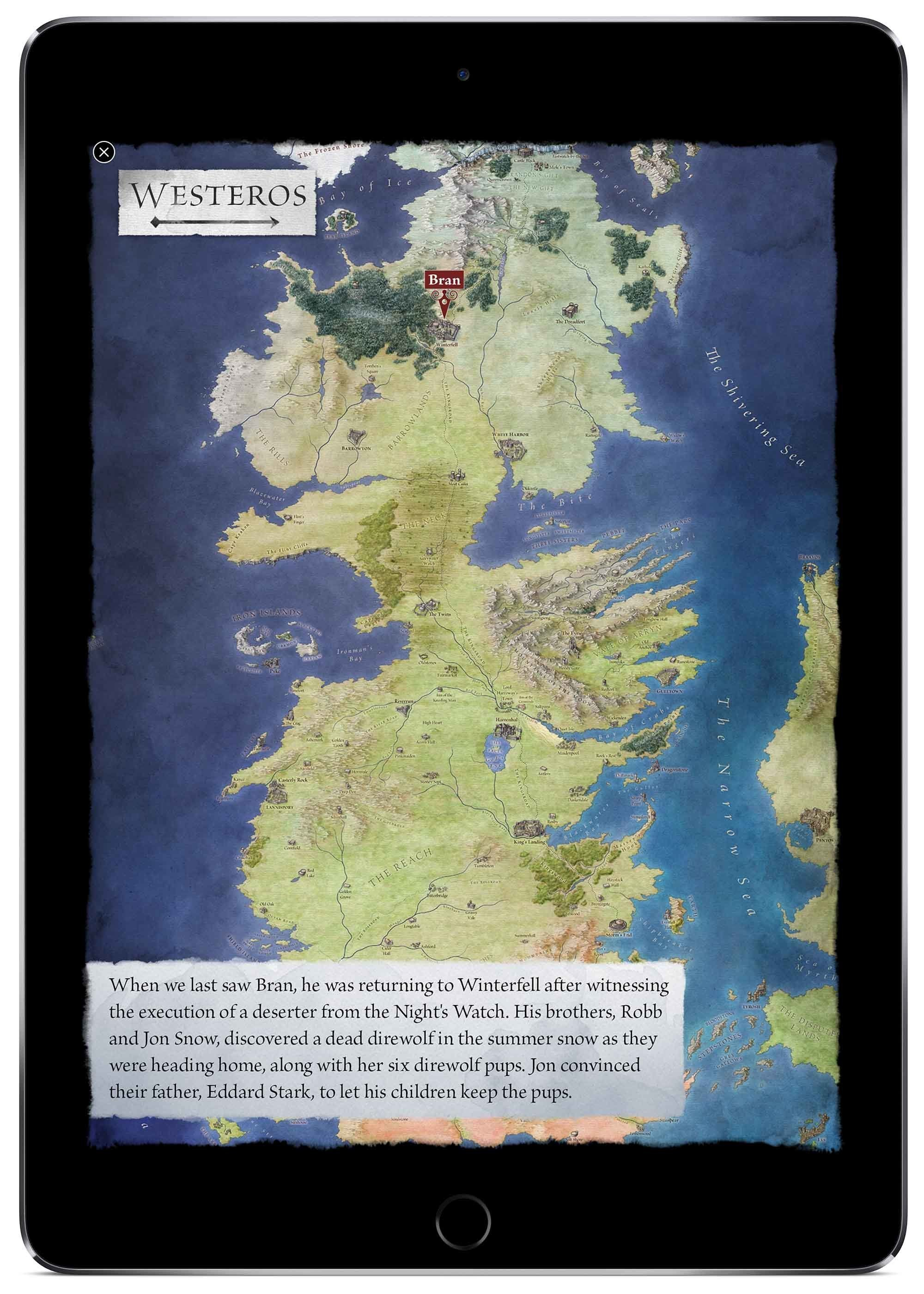 Interactive Game Of Thrones Books Make Westeros Way Less