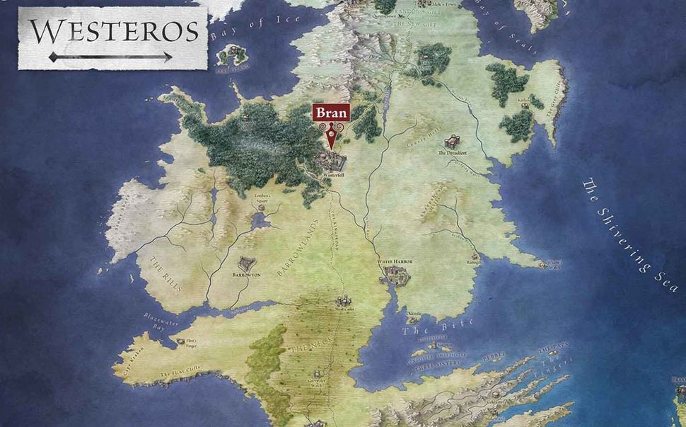 Interactive \'Game Of Thrones\' Books Make Westeros Way Less ...