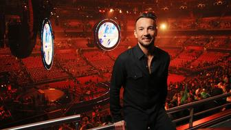 SYDNEY, AUSTRALIA - JULY 3: (EUROPE AND AUSTRALASIA OUT) Hillsong NYC Pastor Carl Lentz pictured backstage at the Hillsong Conference at Allphones Arena in Sydney, New South Wales. (Photo by Toby Zerna/Newspix/Getty Images)