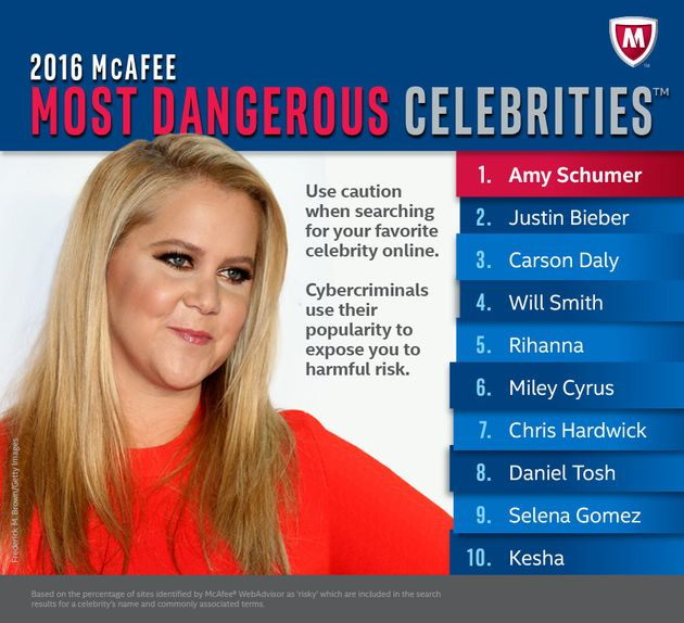 Searching For 'Amy Schumer' Will Most Likely Give You A Virus