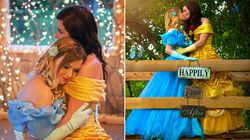 This Couple's Princess Engagement Pics Are A Modern-Day