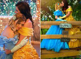Couple's Princess Engagement Pics Feel Like A Modern-Day Fairytale