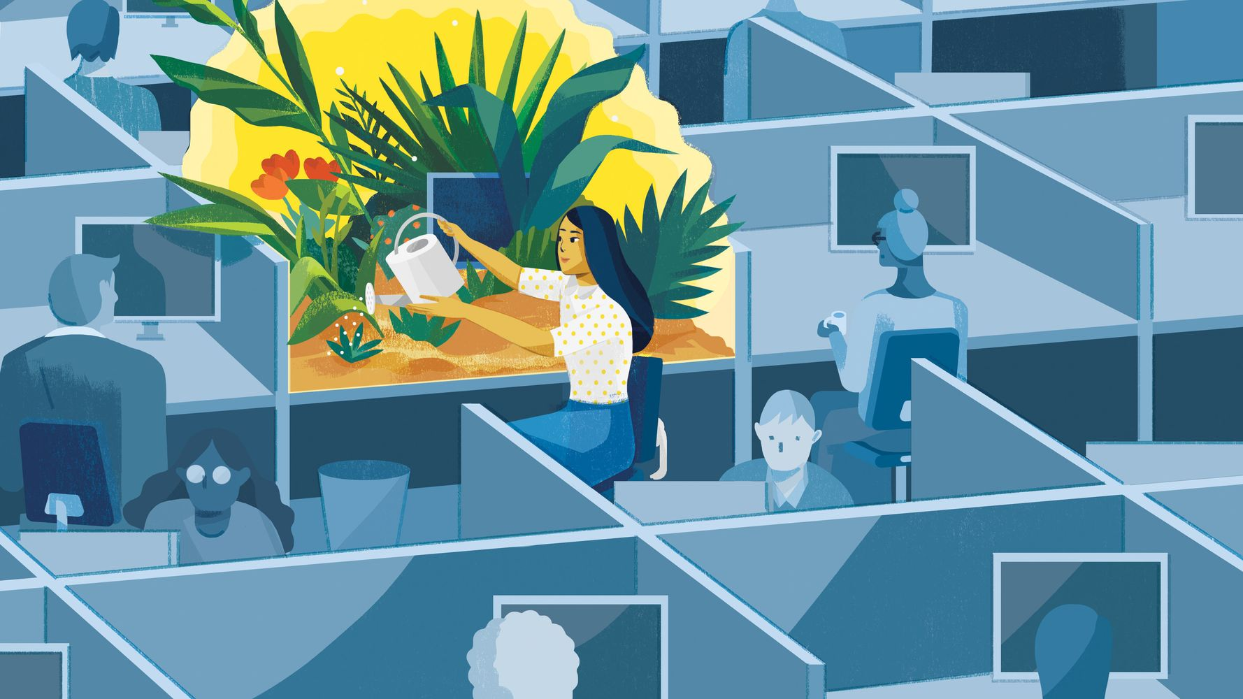 Want To Practice Mindfulness? Start At Work