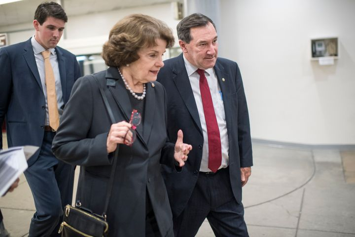 Sen. Dianne Feinstein (D-Calif.) is one of the lawmakers who voted for JASTA despite previously attacking conspiracy theories