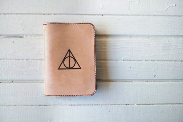 "Passport cover, $39 at <a href=""https://www.etsy.com/listing/275863652/passport-cover-leather-harry-potter?ga_order=most_rele"