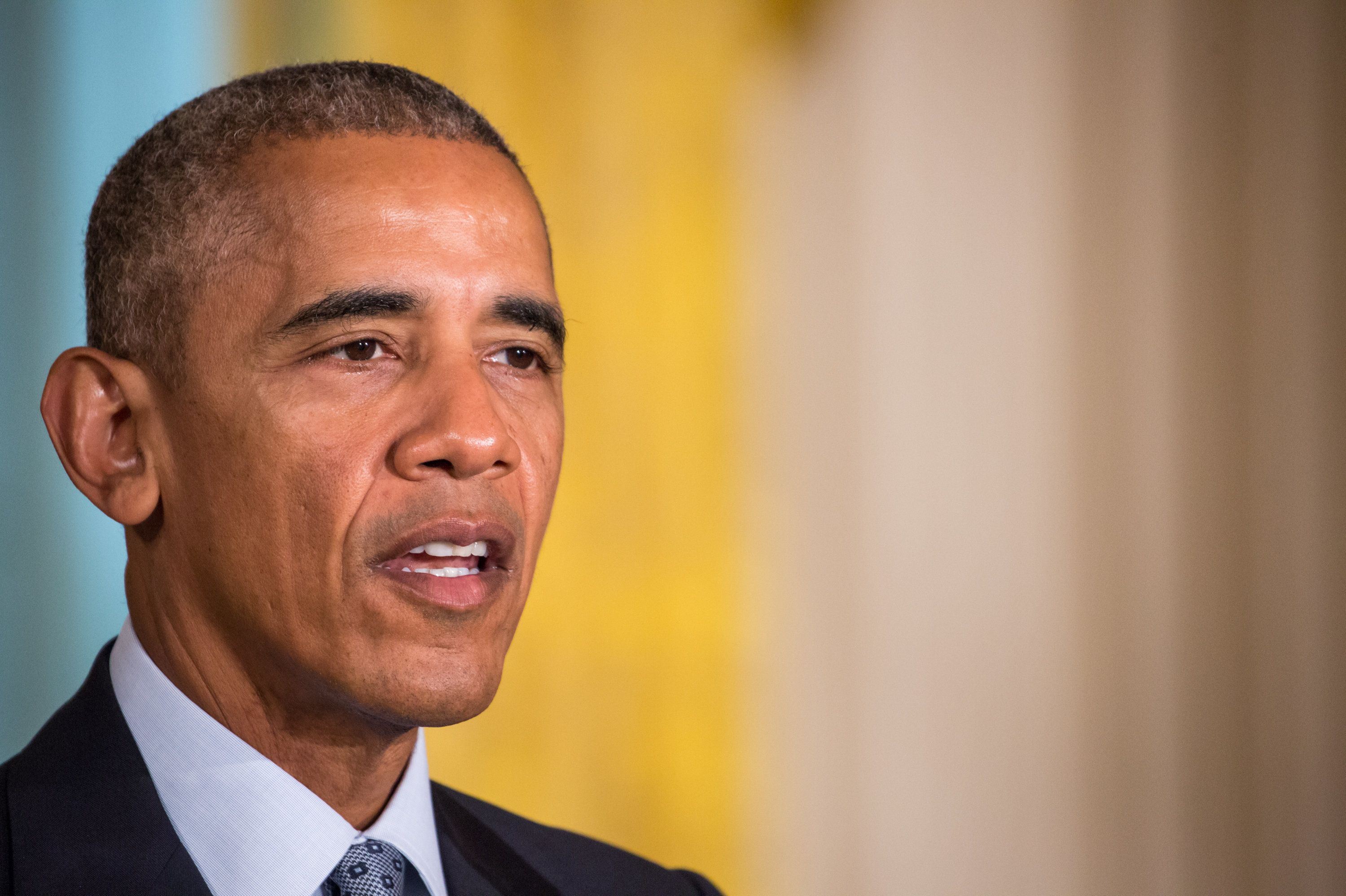 President Barack Obama has called for the U.S. and other nations to do more to help refugees.