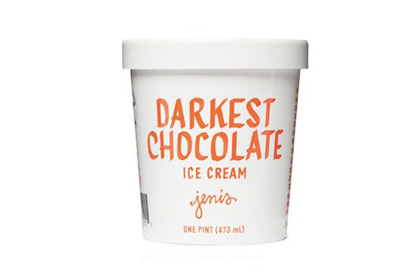 Dark, dark chocolate ice cream. This is the kind of pint you can get lost in (and too quickly find yourself at the bottom of)