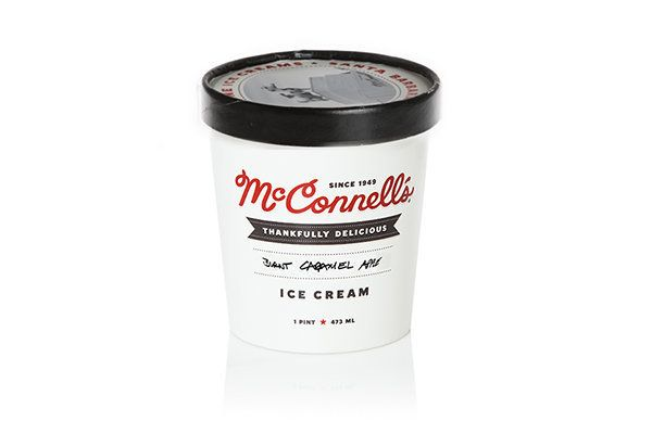 Wow, wow, wow. Burnt caramel is a special flavor that the world needs more of, and McConnell's is the right place to get it b
