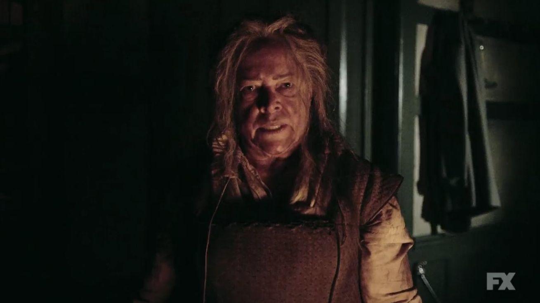Kathy Bates asTomasyn White, aka The Butcher, aka Stabby McGee.