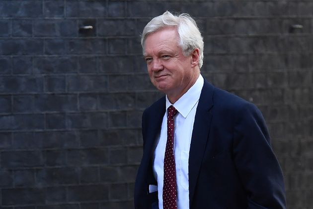 David Davis heads the Department for Exiting the