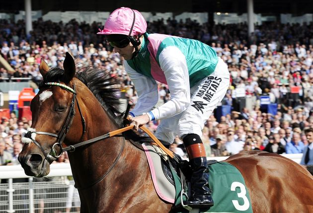 Saudi PrinceKhalid Abdullah al Saudi, who owned legendary horseFrankel (pictured), receives...