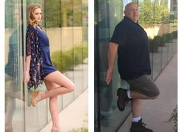 Dad Recreates Daughter's Modelling Shoot After Finding Out He's At The Same Hotel