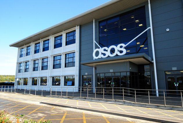 TheASOS distribution centre near Barnsley, South