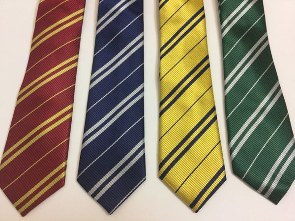 "Hogwarts House ties, $5.50 at <a href=""https://www.etsy.com/listing/399074867/harry-potter-inspired-house-neckties?ga_order=m"