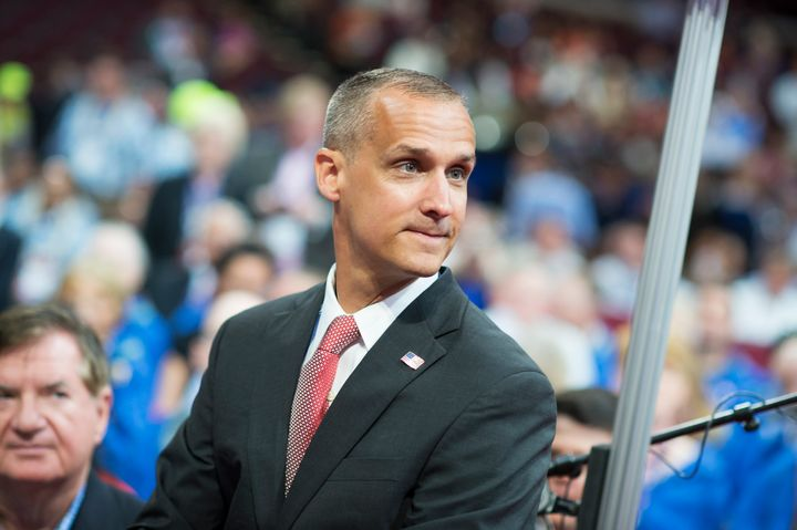 CNN commentator Corey Lewandowski received the rest of his Trump campaign severance in a lump sum.