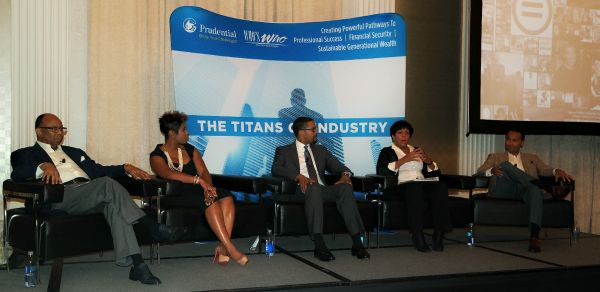 Pickard, Morris, Kuykendoll, Runner and McLaurin, panelists, Titans of Industry event in Chicago.