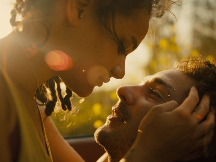 "Sasha Lane and Shia LaBeouf star in a scene from ""American Honey."""