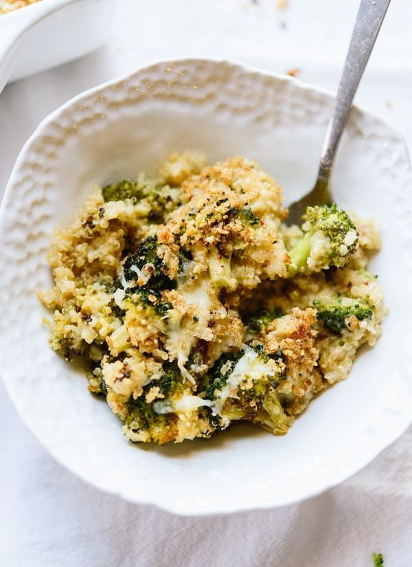 "<strong>Get the <a href=""http://cookieandkate.com/2016/better-broccoli-casserole-recipe/"" target=""_blank"">Broccoli, Cheddar a"