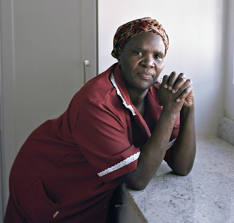 These portraits of black domestic workers shed light on race and identity politics in Cape Town.<i></i>