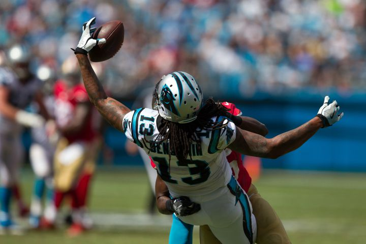 Kelvin Benjamin is too good of a player to be held catchless for an entire game.