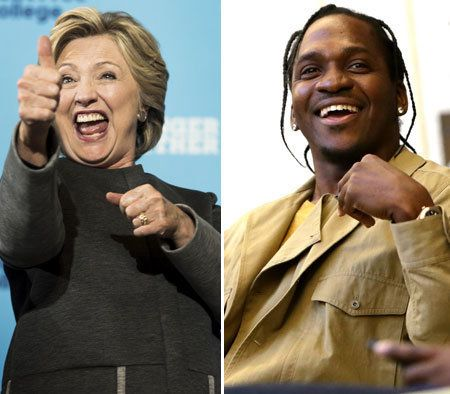 This week the Democratic presidential nominee announcedthe pair's initiative to drive voter registration.