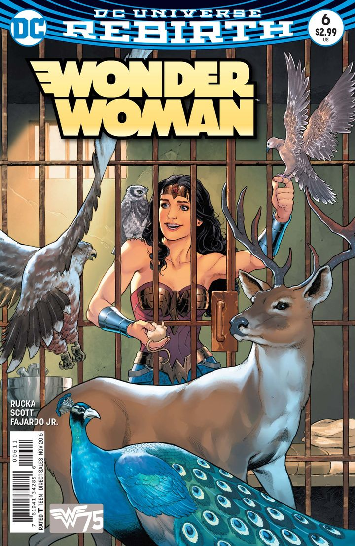The DC Rebirth relaunch of the series features two Wonder Woman stories.