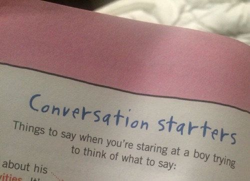 conversation starters for a girl you like