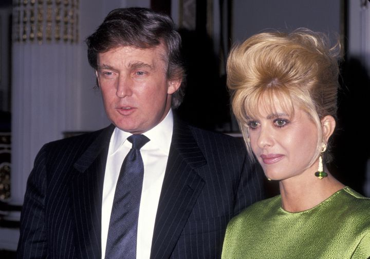 Donald and Ivana Trump fought a very public battle over the terms of their divorce.