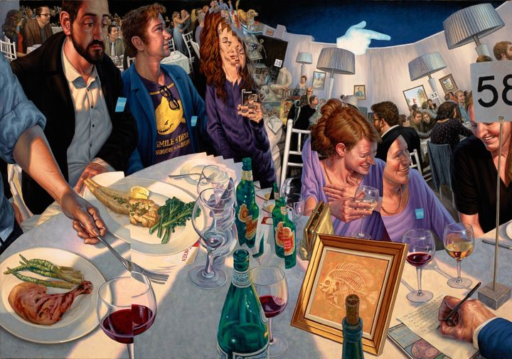 F. Scott Hess,Table #58, 2013, oil on canvas