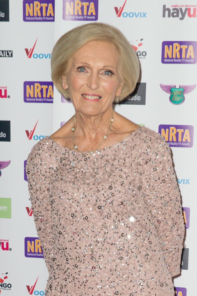 Mary Berry at the National Reality TV Awards