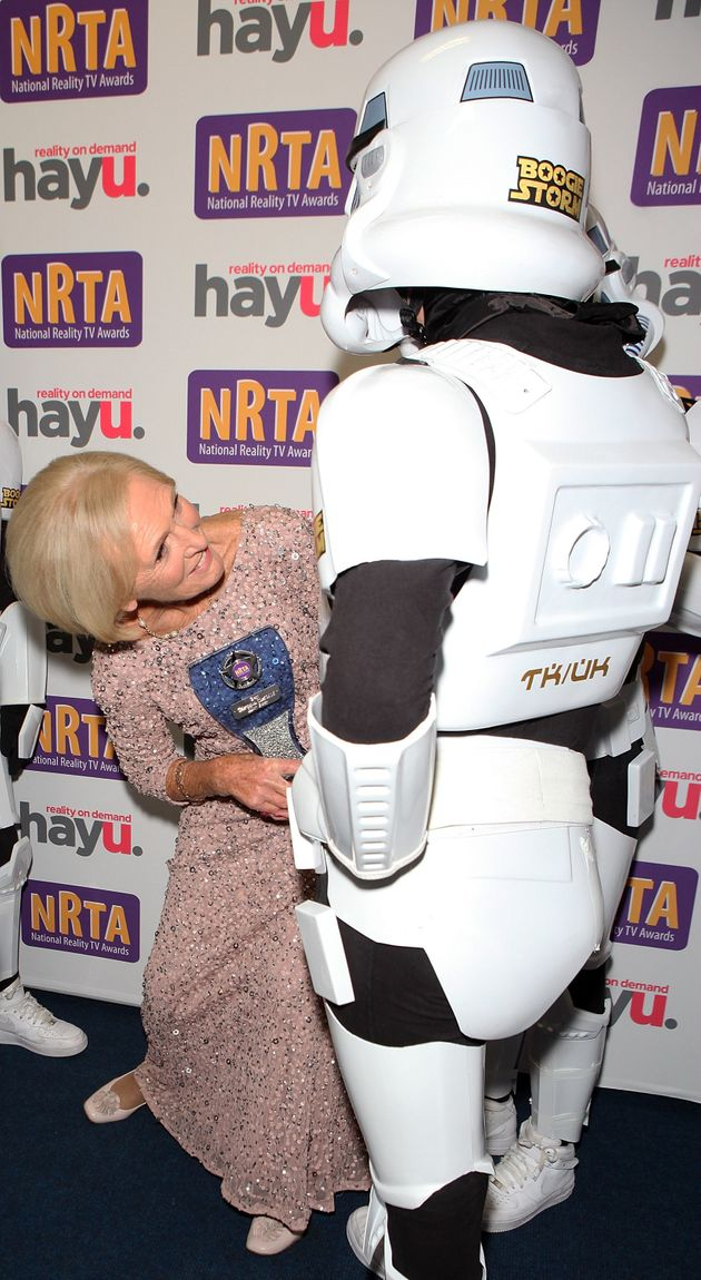Mary meets 'BGT' contestants Boogie