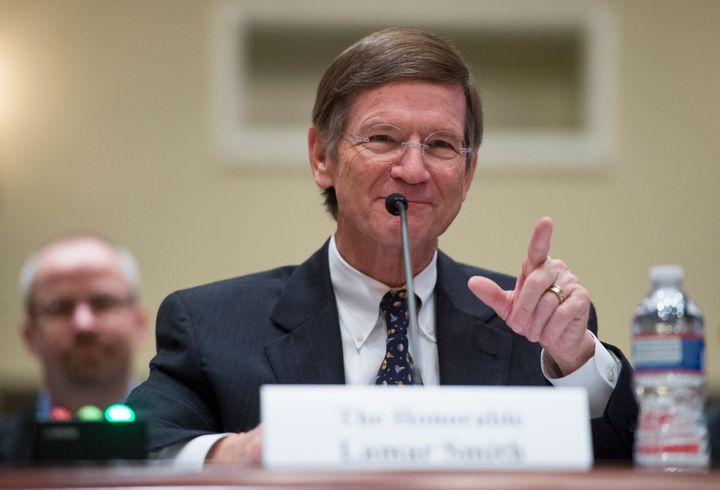 Rep. Lamar Smith (R-Texas) came to Exxon Mobil's defense on Thursday, demanding that the U.S. Securities and Exchange Co