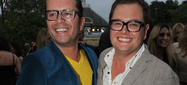 Alan Carr Announces Engagement To Long-Term Boyfriend, Paul Drayton