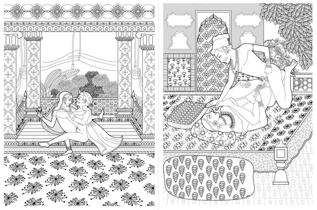 This Kama Sutra Colouring Book Is The Most Fun Youll Have With Your Clothes On NSFW