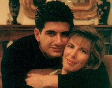 Attilio Manca with mother Angela