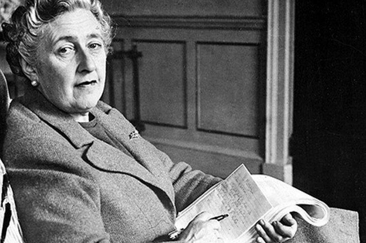 Picture of Agatha Christie.