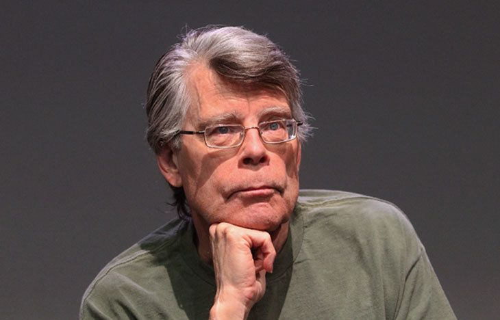 Picture of Stephen King.
