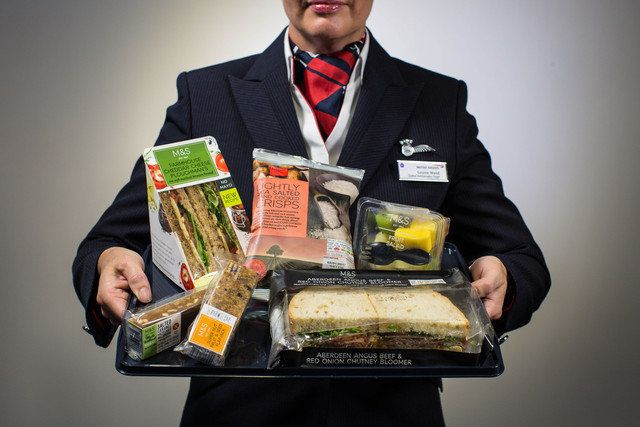 British Airways Scraps Free Flight Food In Favour Of M&S Sarnies (And People Aren't