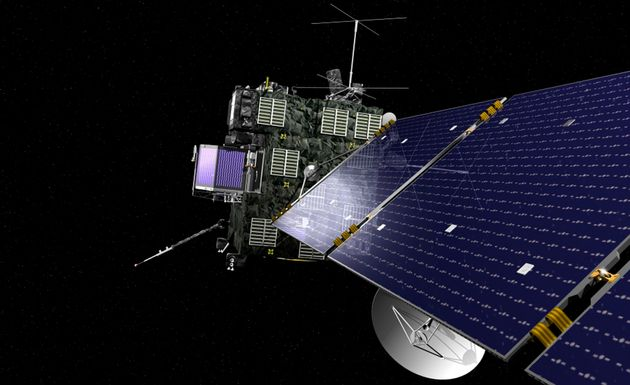 Rosetta Probe Crash Lands On To Comet 67P, Concluding Historic