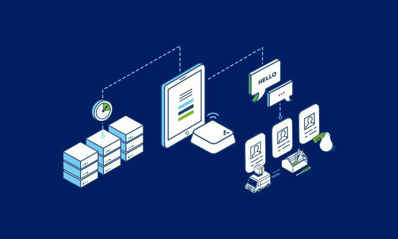 Beacons helping optimize logistics