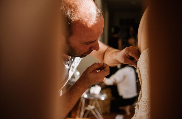 Hamil Dudu was a master tailor back in his home country of